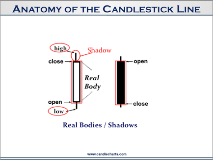 Anatomy of Candlestick Line